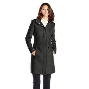 Kenneth Cole New York Women's Zip-Front Coat